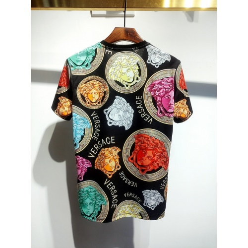 Replica Versace T-Shirts Short Sleeved For Men #840021 $30.00 USD for Wholesale