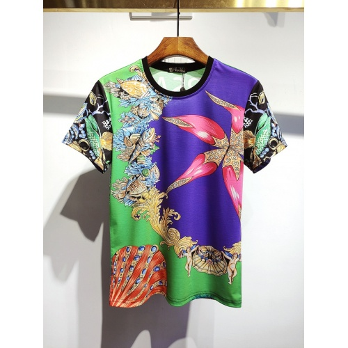 Versace T-Shirts Short Sleeved For Men #840022 $30.00, Wholesale Replica Versace T-Shirts