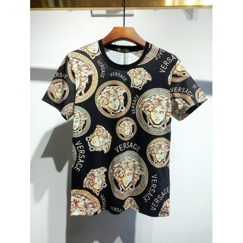 Versace T-Shirts Short Sleeved For Men #840023 $30.00, Wholesale Replica Versace T-Shirts