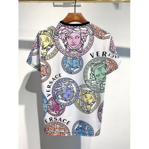 Replica Versace T-Shirts Short Sleeved For Men #840025 $30.00 USD for Wholesale