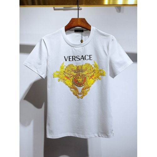 Versace T-Shirts Short Sleeved For Men #840027 $26.00, Wholesale Replica Versace T-Shirts