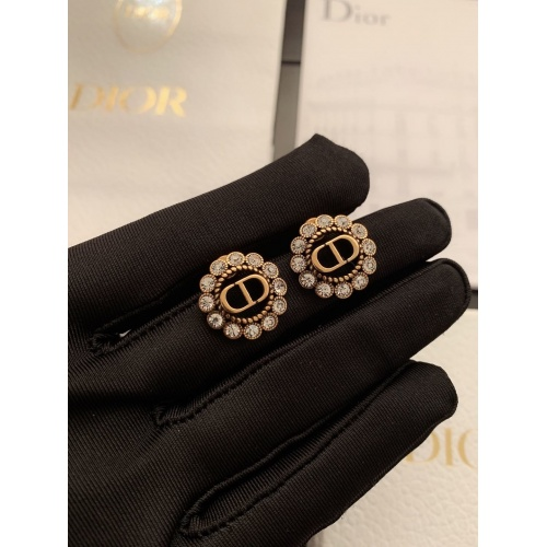 Christian Dior Earrings #840037 $27.00, Wholesale Replica Christian Dior Earrings