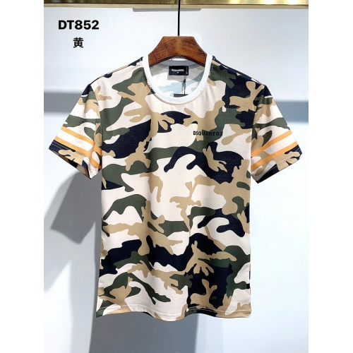 Dsquared T-Shirts Short Sleeved For Men #840045 $28.00 USD, Wholesale Replica Dsquared T-Shirts