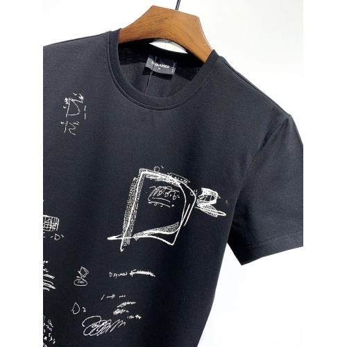 Replica Dsquared T-Shirts Short Sleeved For Men #840052 $28.00 USD for Wholesale