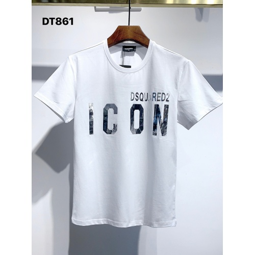 Dsquared T-Shirts Short Sleeved For Men #840056 $26.00, Wholesale Replica Dsquared T-Shirts