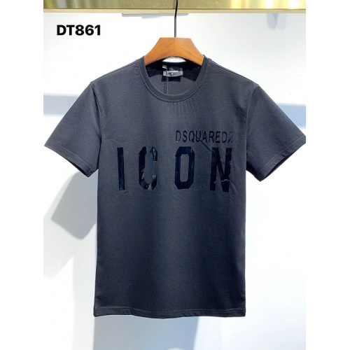 Dsquared T-Shirts Short Sleeved For Men #840057 $26.00, Wholesale Replica Dsquared T-Shirts