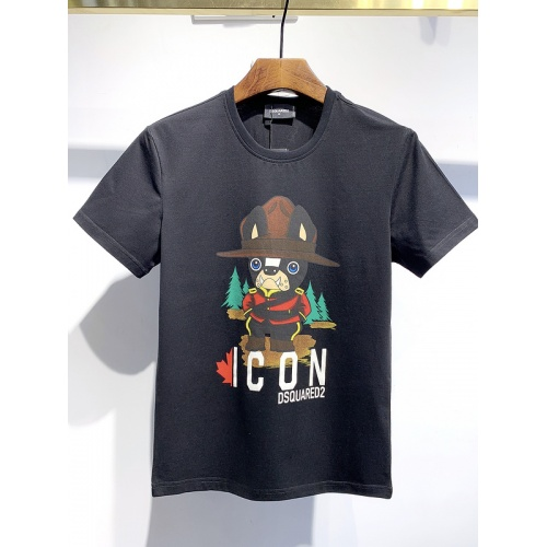 Dsquared T-Shirts Short Sleeved For Men #840059 $26.00, Wholesale Replica Dsquared T-Shirts