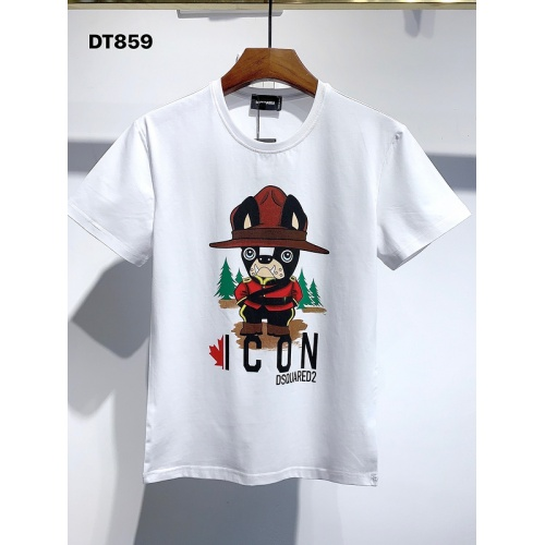 Dsquared T-Shirts Short Sleeved For Men #840060 $26.00, Wholesale Replica Dsquared T-Shirts