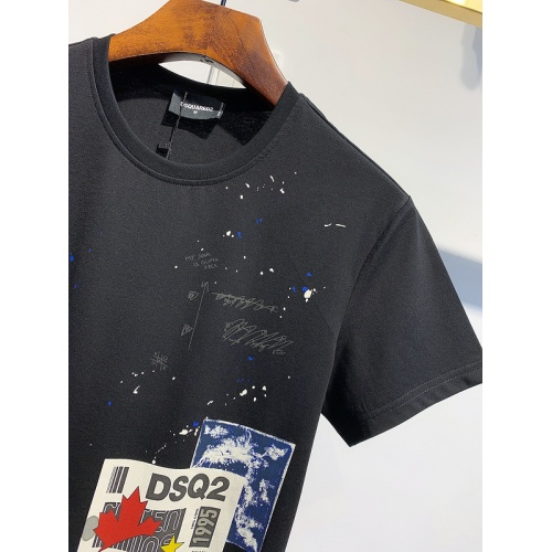 Replica Dsquared T-Shirts Short Sleeved For Men #840061 $26.00 USD for Wholesale