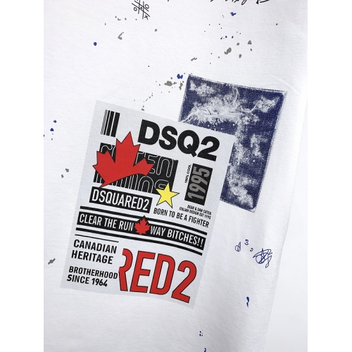 Replica Dsquared T-Shirts Short Sleeved For Men #840062 $26.00 USD for Wholesale