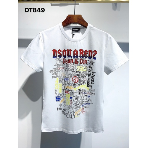 Dsquared T-Shirts Short Sleeved For Men #840063 $26.00, Wholesale Replica Dsquared T-Shirts