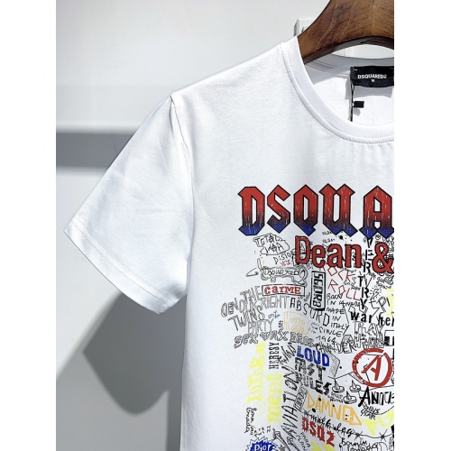 Replica Dsquared T-Shirts Short Sleeved For Men #840063 $26.00 USD for Wholesale