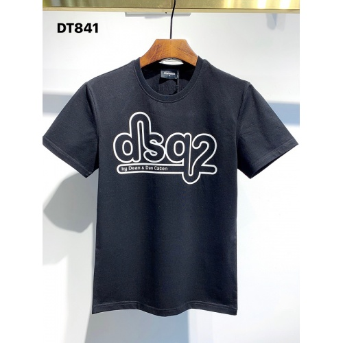 Dsquared T-Shirts Short Sleeved For Men #840068 $26.00, Wholesale Replica Dsquared T-Shirts