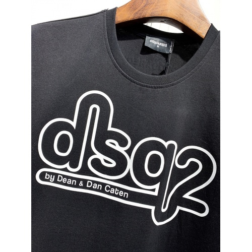 Replica Dsquared T-Shirts Short Sleeved For Men #840068 $26.00 USD for Wholesale