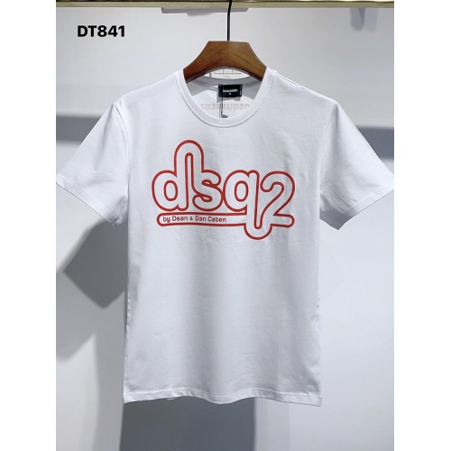 Dsquared T-Shirts Short Sleeved For Men #840069 $26.00, Wholesale Replica Dsquared T-Shirts
