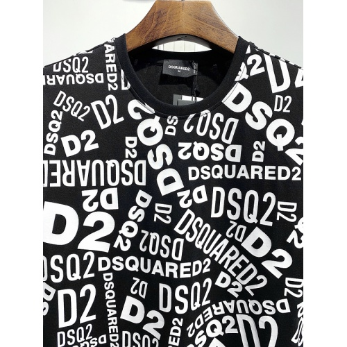 Replica Dsquared T-Shirts Short Sleeved For Men #840074 $30.00 USD for Wholesale