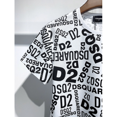 Replica Dsquared T-Shirts Short Sleeved For Men #840075 $30.00 USD for Wholesale