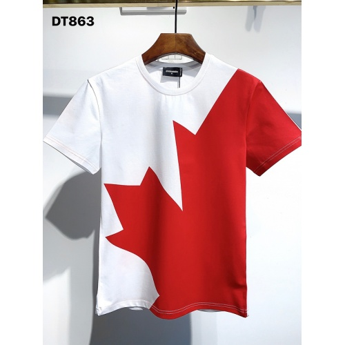 Dsquared T-Shirts Short Sleeved For Men #840079 $30.00, Wholesale Replica Dsquared T-Shirts