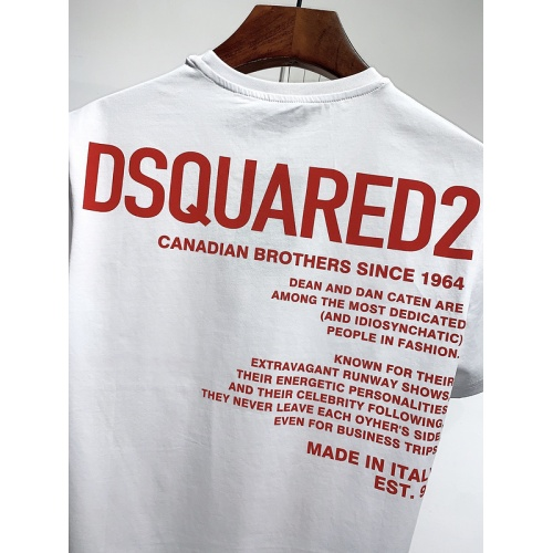Replica Dsquared T-Shirts Short Sleeved For Men #840079 $30.00 USD for Wholesale