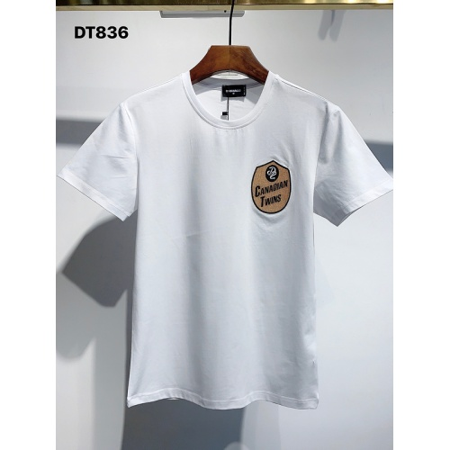 Dsquared T-Shirts Short Sleeved For Men #840084 $26.00, Wholesale Replica Dsquared T-Shirts