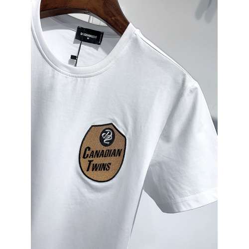Replica Dsquared T-Shirts Short Sleeved For Men #840084 $26.00 USD for Wholesale