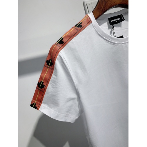 Replica Dsquared T-Shirts Short Sleeved For Men #840088 $26.00 USD for Wholesale