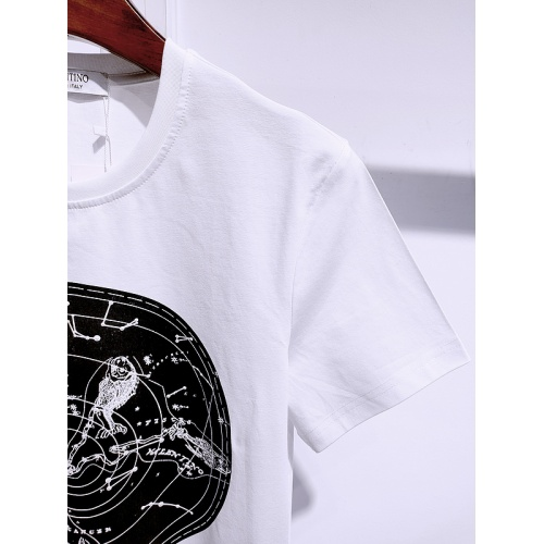 Replica Valentino T-Shirts Short Sleeved For Men #840101 $26.00 USD for Wholesale