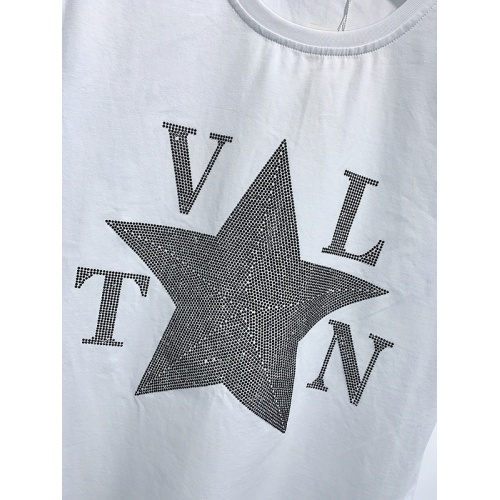Replica Valentino T-Shirts Short Sleeved For Men #840102 $26.00 USD for Wholesale