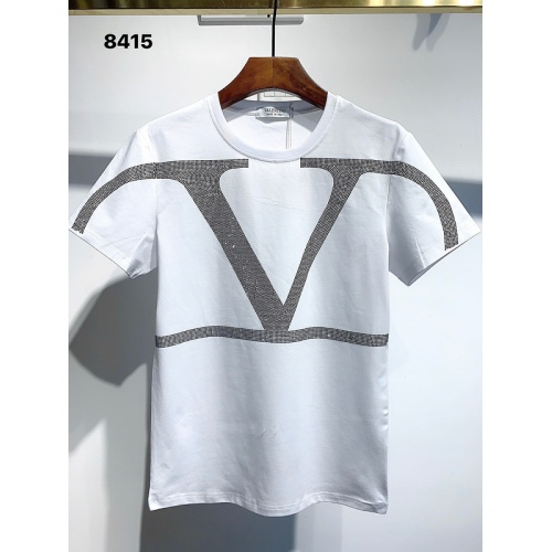 Valentino T-Shirts Short Sleeved For Men #840104 $26.00, Wholesale Replica Valentino T-Shirts