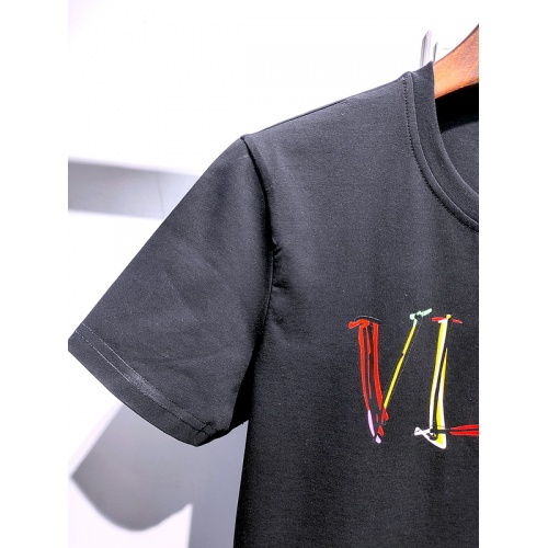 Replica Valentino T-Shirts Short Sleeved For Men #840106 $26.00 USD for Wholesale