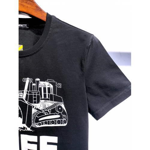 Replica Off-White T-Shirts Short Sleeved For Men #840112 $28.00 USD for Wholesale