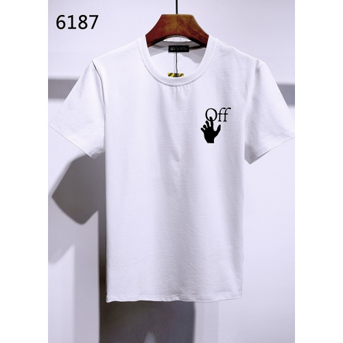 Off-White T-Shirts Short Sleeved For Men #840118 $28.00, Wholesale Replica Off-White T-Shirts