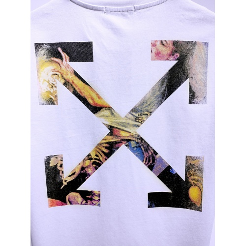Replica Off-White T-Shirts Short Sleeved For Men #840118 $28.00 USD for Wholesale