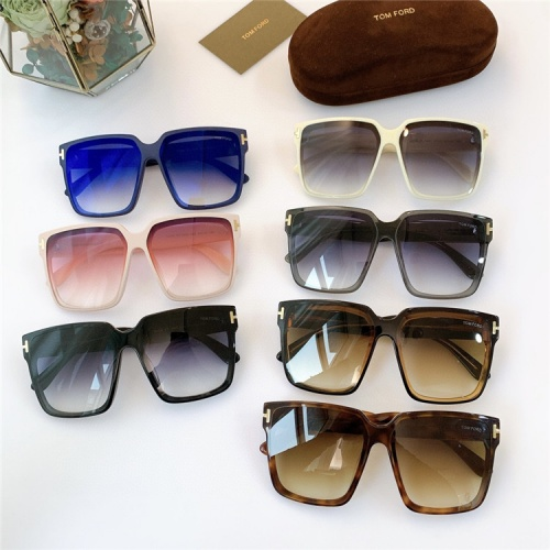 Replica Tom Ford AAA Quality Sunglasses #840174 $56.00 USD for Wholesale