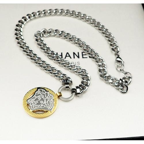 Versace Necklace #840175 $32.00, Wholesale Replica Versace Necklace