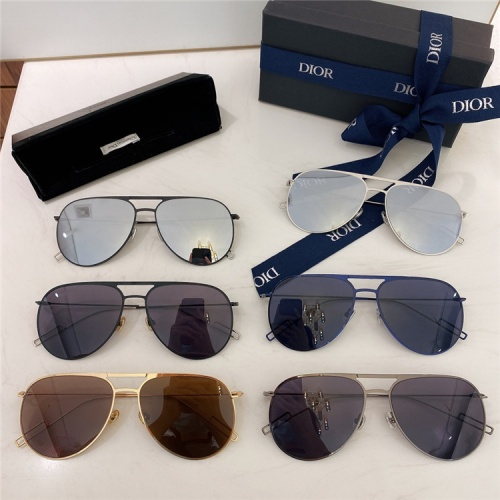 Replica Christian Dior AAA Quality Sunglasses For Men #840183 $58.00 USD for Wholesale