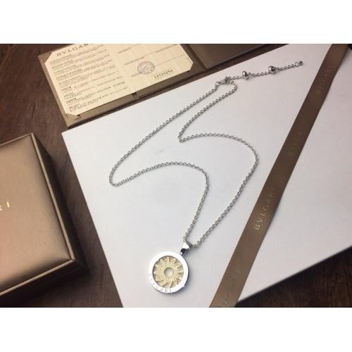 Bvlgari Necklaces #840195 $42.00, Wholesale Replica Bvlgari Necklaces