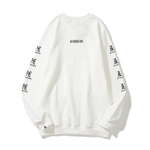 Replica Bape Hoodies Long Sleeved For Men #840212 $39.00 USD for Wholesale