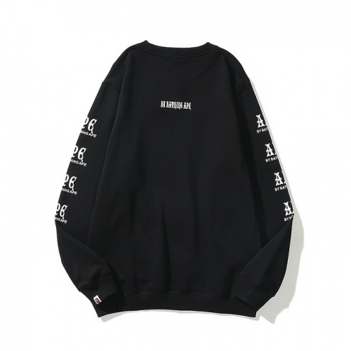 Replica Bape Hoodies Long Sleeved For Men #840213 $39.00 USD for Wholesale