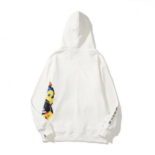 Replica Bape Hoodies Long Sleeved For Men #840214 $42.00 USD for Wholesale