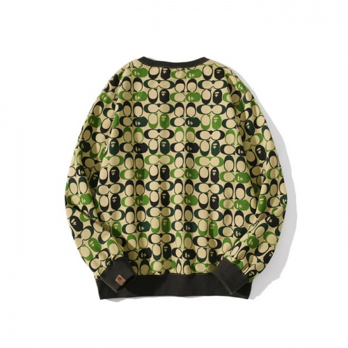 Replica Bape Hoodies Long Sleeved For Men #840216 $40.00 USD for Wholesale
