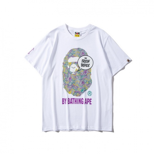 Bape T-Shirts Short Sleeved For Men #840217 $25.00, Wholesale Replica Bape T-Shirts