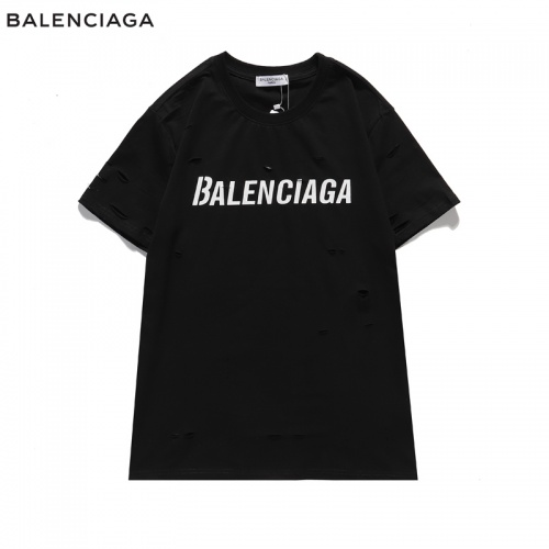 Balenciaga T-Shirts Short Sleeved For Men #840219