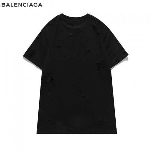 Replica Balenciaga T-Shirts Short Sleeved For Men #840219 $29.00 USD for Wholesale