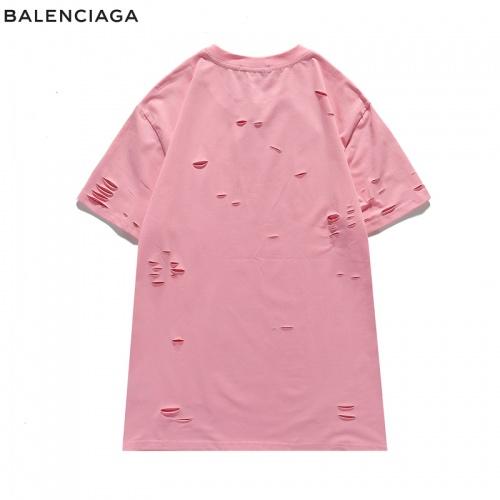 Replica Balenciaga T-Shirts Short Sleeved For Men #840220 $29.00 USD for Wholesale