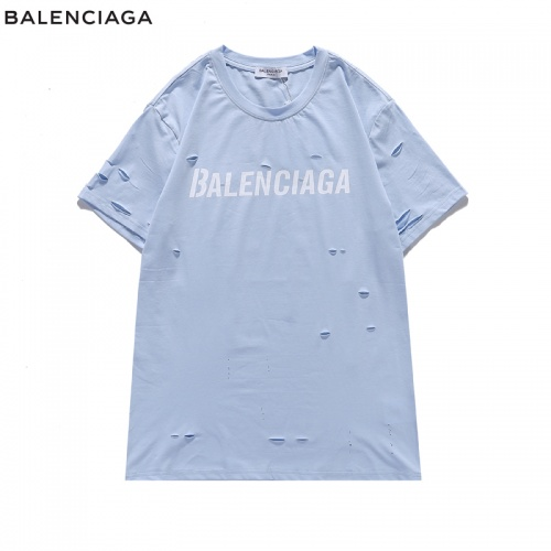 Balenciaga T-Shirts Short Sleeved For Men #840221 $29.00, Wholesale Replica Balenciaga T-Shirts