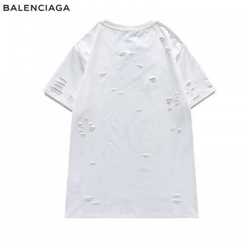 Replica Balenciaga T-Shirts Short Sleeved For Men #840222 $29.00 USD for Wholesale