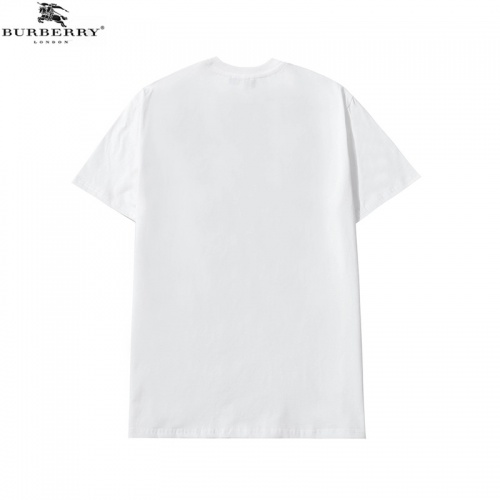 Replica Burberry T-Shirts Short Sleeved For Men #840228 $27.00 USD for Wholesale