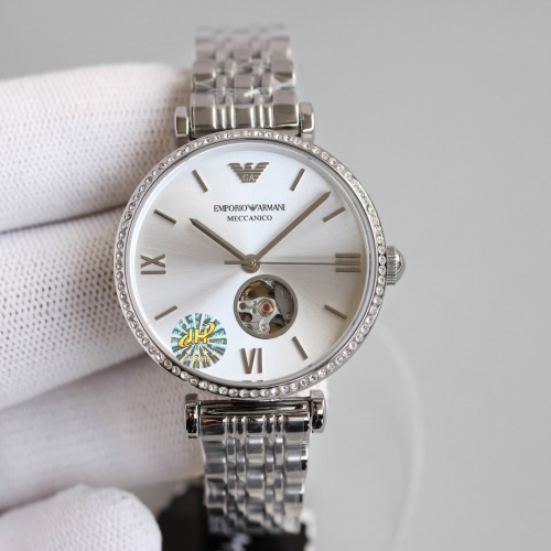Armani AAA Quality Watches For Women #840235 $235.00, Wholesale Replica Armani Quality Watches