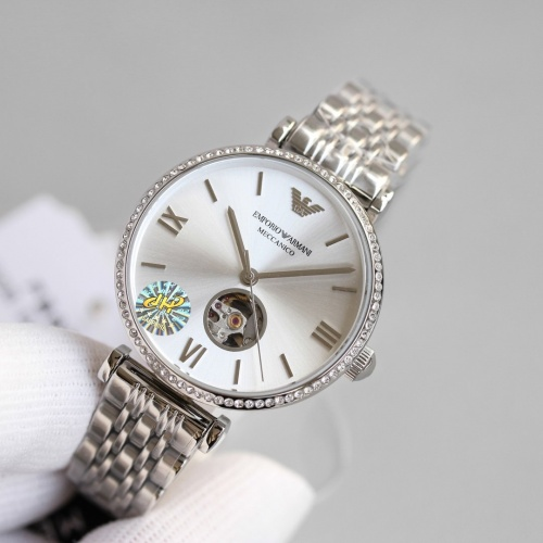 Replica Armani AAA Quality Watches For Women #840235 $235.00 USD for Wholesale